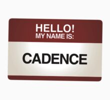 NAMETAG TEES - CADENCE by webart