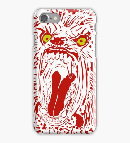 Keep Off The Moors (Red Variant) iPhone Case/Skin