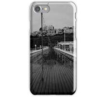 Cold desolate pier iPhone Case/Skin