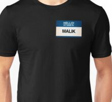 NAMETAG TEES - MALIK Unisex T-Shirt