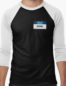 NAMETAG TEES - BOND T-Shirt