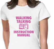 Instruction Manual Womens Fitted T-Shirt