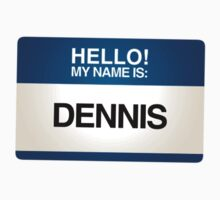 NAMETAG TEES - DENNIS by webart