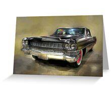 1964 Cadillac Greeting Card