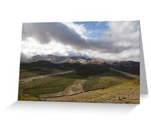 Polychrome Valley Greeting Card