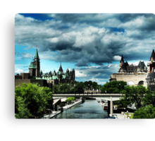 Ominous Ottawa Canvas Print