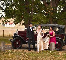 The bridal party by Odille Esmonde-Morgan