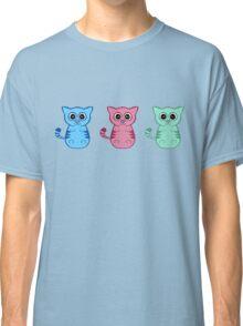 Three Sleepy Kittens Classic T-Shirt