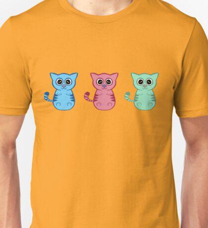 Three Sleepy Kittens Unisex T-Shirt