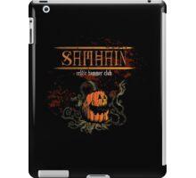 Creepy Halloween Pumpkin Man! iPad Case/Skin
