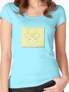 My unoriginal leprechaun amateur sketch shirt Women's Fitted Scoop T-Shirt