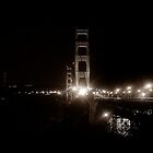 Golden Gate by Night by Cleber Photography Design
