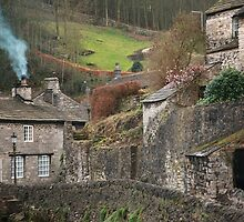 Castleton Village by Franco De Luca Calce