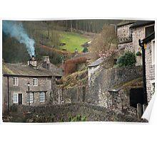 Castleton Village Poster