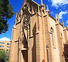 Santa Fe Church by Frank Romeo