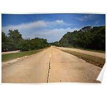 Route 66 - Missouri Concrete Highway Poster
