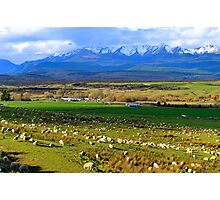 Te Anau Downs. South Island, New Zealand. Photographic Print