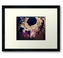 """""""Angel Of Strength & Fire"""" Framed Print"""
