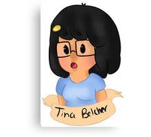 Tina Belcher Canvas Print