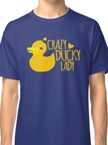 Crazy Ducky Lady Classic T-Shirt