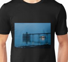 The Paddlesteamer Waverley leaves Clevedon Pier Unisex T-Shirt