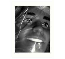 03-08-11:  Plastic In Plastic Art Print