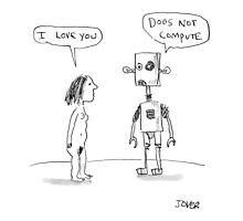 robotic love Photographic Print