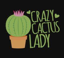 Crazy Cactus Lady One Piece - Short Sleeve