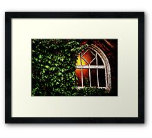 Welcome Light Framed Print