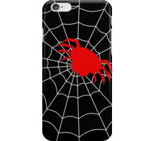 Simple Spider in a Web iPhone Case/Skin
