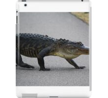 Gator Crossing iPad Case/Skin