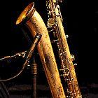 Baritone sax by andreisky
