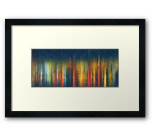 Colours of her soul Framed Print