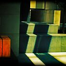 STEPS AND BOX by JOE CALLERI