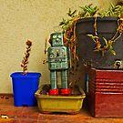 STILL LIFE WITH ROBOT by JOE CALLERI