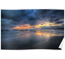 Aireys Inlet beach Poster