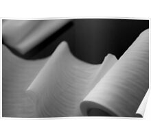 Paper Soft - Toilet Roll abstract photo Poster