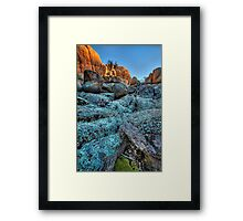 Looking For Level Framed Print
