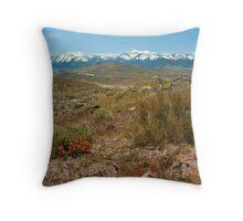 Sierras Throw Pillow