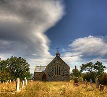 Churchyard by Philip Greenwood