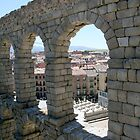 Aqueduct of roman in Segovia (Spain) by IKGM