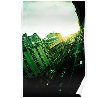 From my window, sun goes down, in Paris Poster