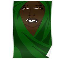 Emerald Shawl Poster