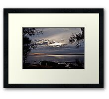 Moody Morning.(9-3-11) Framed Print