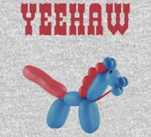 Cowboy Balloon  Kids Tee