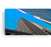 Looking Up, San Francisco Architecture Canvas Print