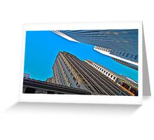 Looking Up, San Francisco Architecture Greeting Card