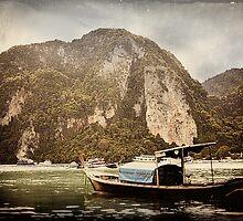 'Boat: Vintage.' Ko Phi Phi, Thailand. by RyanEdwardson