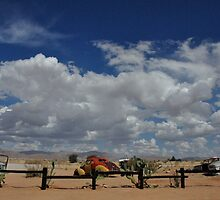 car wrecks, solitaire, namibia by nicopez