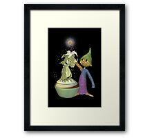Trainee Wizard Framed Print